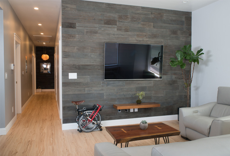Reclaimed Wood Paneling For Walls   Self Adhesive
